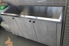 後陽台水槽櫃1