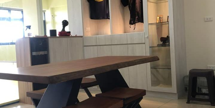綠芯武術與藝術的空間設計 竹北武術館系統櫃設計案